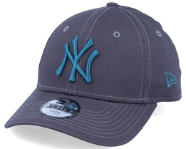 Kids New York Yankees Essential 9Forty Dark Grey/Steel Blue Adjustable - New Era