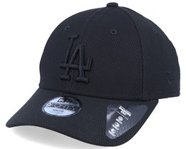 Kids Los Angeles Dodgers Diamond Era Essential 9Forty Black/Black Adjustable - New Era