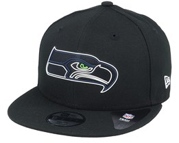 Kids Seattle Seahawks NFL 20 Draft Official 9Fifty Black Snapback - New Era