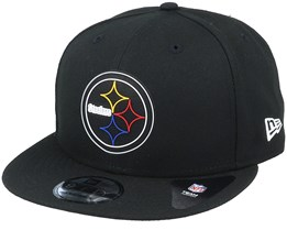Pittsburgh Steelers NFL 20 Draft Official 9Fifty Black Snapback - New Era