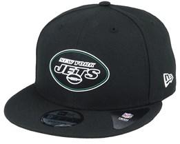 New York Jets NFL 20 Draft Official 9Fifty Black Snapback - New Era