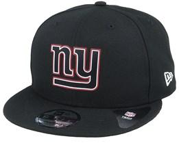 New York Giants NFL 20 Draft Official 9Fifty Black Snapback - New Era