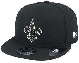 New Orleans Saints NFL 20 Draft Official 9Fifty Black Snapback - New Era