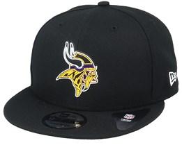 Minnesota Vikings NFL 20 Draft Official 9Fifty Black Snapback - New Era