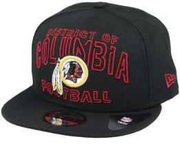 Washington Redskins NFL 20 Draft Alt 9Fifty Black Snapback - New Era