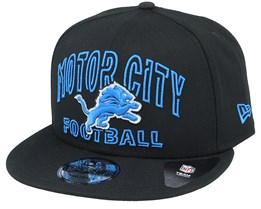 Detroit Lions NFL 20 Draft Official 9Fifty Black Snapback - New Era