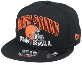 Cleveland Browns NFL 20 Draft Alt 9Fifty Black Snapback - New Era