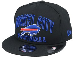 Buffalo Bills NFL 20 Draft Alt 9Fifty Black Snapback - New Era
