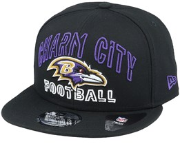 Baltimore Ravens NFL 20 Draft Alt 9Fifty Black Snapback - New Era