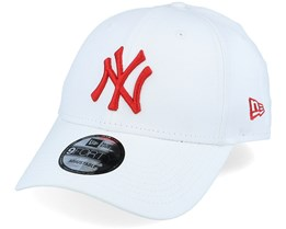 New York Yankees League Essential 9Forty White/Red Adjustable - New Era