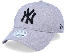 New York Yankees Womens Licensed 9Forty Snap Heather Grey Adjustable - New Era