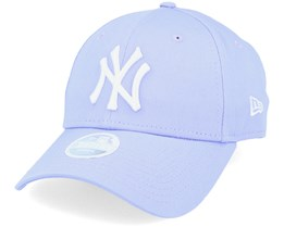 New York Yankees Womens League Essential 9Forty Lavendel/White Adjustable - New Era