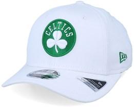 Boston Celtics White Base 9Fifty White/Green Adjustable - New Era