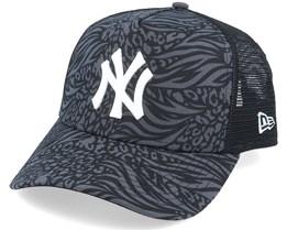 New York Yankees Hook Black/White Trucker - New Era