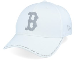 Boston Red Sox Performance Fabric License 9Forty White/Grey Adjustable - New Era