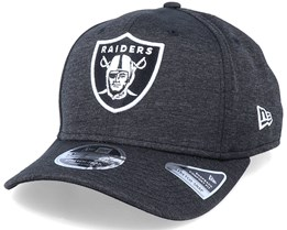 Oakland Raiders NFL Stretch Snap Black/White Adjustable - New Era
