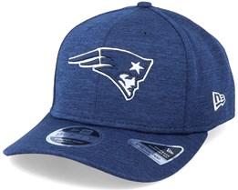 New England Patriots NFL Stretch Snap Navy Adjustable - New Era