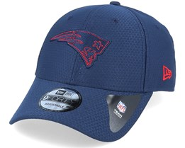 New England Patriots NFL 9Forty Velcro Strap Navy Adjustable - New Era