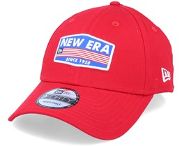 Usa Patch 9Forty Red Adjustable - New Era