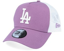 Los Angeles Dodgers League Essential Purple/White Trucker - New Era