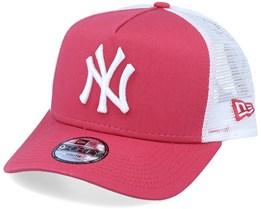 Kids New York Yankees League Essential Palm/White Trucker - New Era
