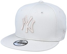 Kids New York Yankees League Essential 9Fifty Stone/Stone Snapback - New Era