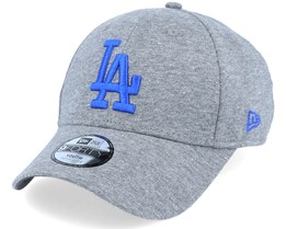 Kids Los Angeles Dodgers Jersey Essential 9Forty Heather Grey/Blue Adjustable - New Era