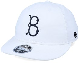 Brooklyn Dodgers Indigo Retro Crown 9Fifty White/Black Adjustable - New Era