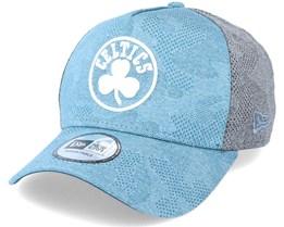 Boston Celtics Engineered Plus A-Frame Blue/Grey Adjustable - New Era