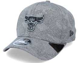 Chicago Bulls Engineered Plus 9Fifty Stretch Snap Dark Grey Adjustable - New Era