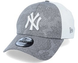 New York Yankees Engineered Plus 9Forty Grey/White Adjustable - New Era