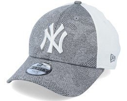 Kids New York Yankees Engineered Plus 9Forty Grey/White Adjustable - New Era