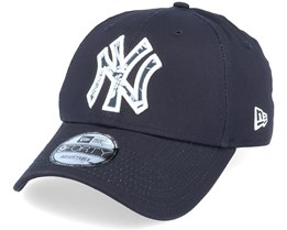 New York Yankees 9Forty Infill Navy/Pattern Adjustable - New Era