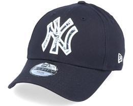 Kids New York Yankees 9Forty Infill Neyyan Navy/Pattern Adjustable - New Era