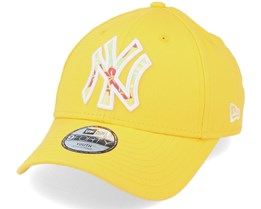 Kids New York Yankees 9Forty Infill Yellow/Pattern Adjustable - New Era