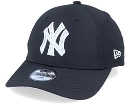 Kids New York Yankees 9Forty Hook OTC Black/Grey Pattern Adjustable - New Era