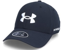 Ua Golf96 Hat Black Adjustable - Under Armour