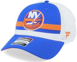 New York Islanders Authentic Pro Draft Blue/White Trucker - Fanatics