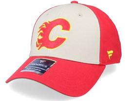 Calgary Flames True Classics Structured Red Adjustable - Fanatics