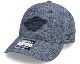 Minnesota Wild Authentic Pro T&T Unstructured Black Dad Cap - Fanatics