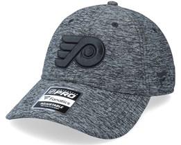 Philadelphia Flyers Authentic Pro T&T Unstructured Black Dad Cap - Fanatics