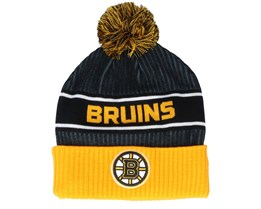 Boston Bruins Authentic Pro Locker Room Black/Yellow Pom - Fanatics