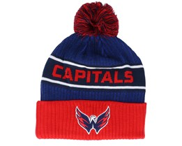 Washington Capitals Authentic Pro Locker Room Bue/Red Pom - Fanatics
