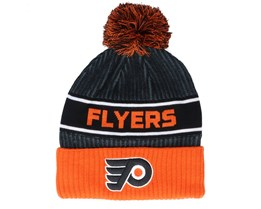 Philadelphia Flyers Authentic Pro Locker Room Black/Orange Pom - Fanatics