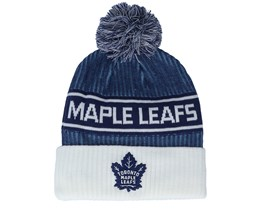 Toronto Maple Leafs Authentic Pro Locker Room Blue/White Pom - Fanatics