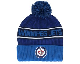 Winnipeg Jets Authentic Pro Locker Room Navy/Blue Pom - Fanatics