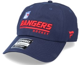 New York Rangers Authentic Pro Locker Room Dad Cap Navy Adjustable - Fanatics