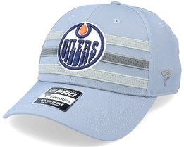 Edmonton Oilers Authentic Pro Home Ice Grey Adjustable - Fanatics