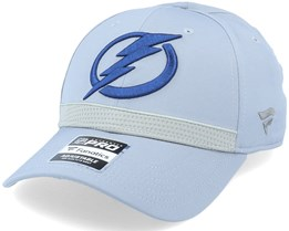 Tampa Bay Lightning Authentic Pro Home Ice Grey Adjustable - Fanatics
