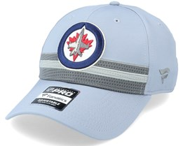 Winnipeg Jets Authentic Pro Home Ice Grey Adjustable - Fanatics